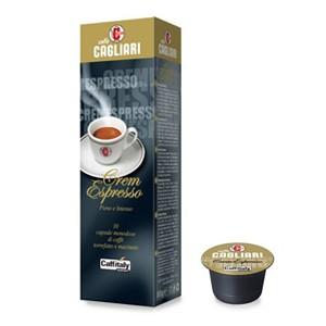 Caffitaly Cagliari Crem Espresso pz.10